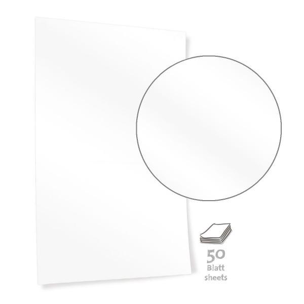 Bright White Pinboard Paper – MINI