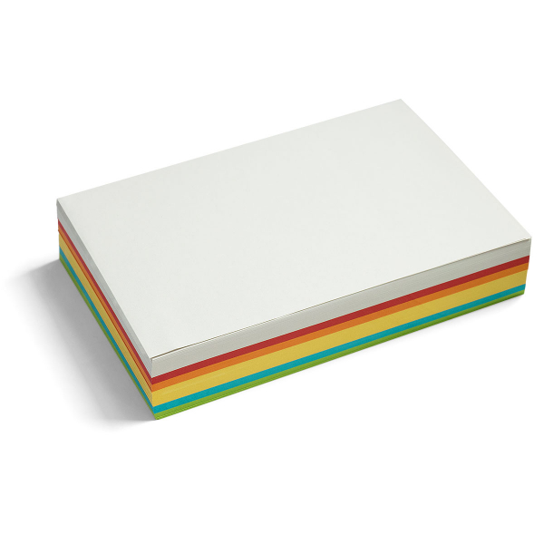 Pin-It Cards, large rectangular, 250 sheets, assorted