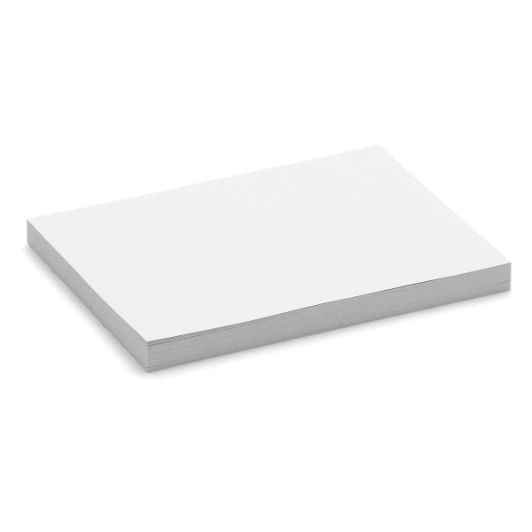 Stick-It X-tra Cards, small rectangular, 100 sheets, single colors