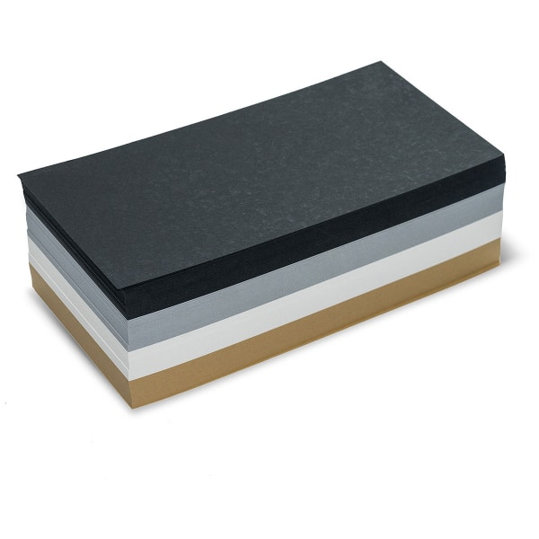 Pin-It Cards, rectangular, 500 sheets, muted colors