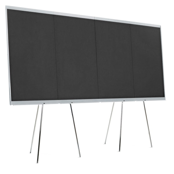 LW-X GraphicWall, 4 Board Elements/Set - black foam board