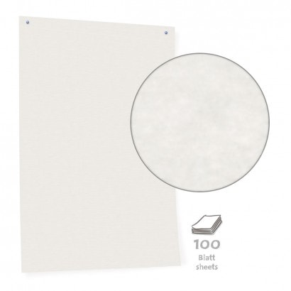 White Pinboard Paper