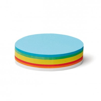 250 Oval Pin-It Cards, assorted colours