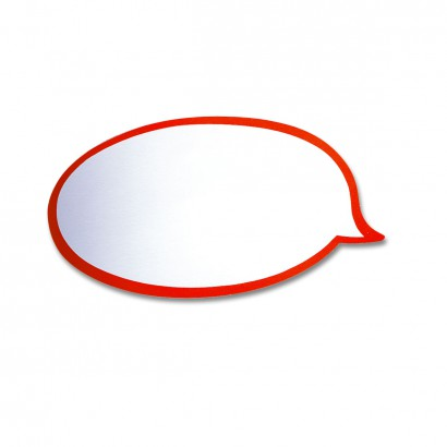 100 Speech Bubbles, Pin-It